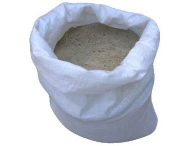 Песок горный в мешках