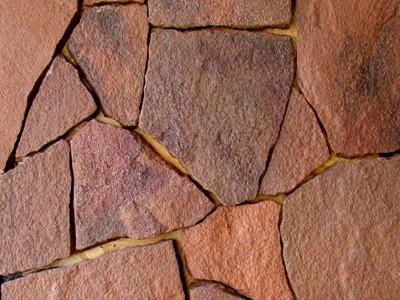 Природный камень Песчанник красный