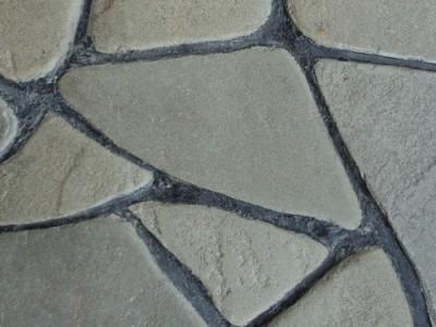 Природный камень Песчанник серо-зеленый оголтованный