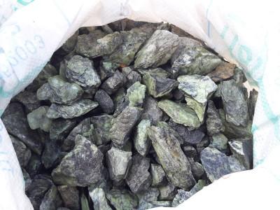 Природный камень Змеевик салатный 20-40 мм